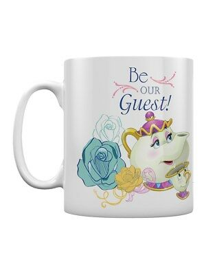Beauty And The Beast Be Our Guest White Mug
