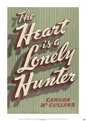 New The Heart Is A Lonely Hunter Carson McCullers Poster