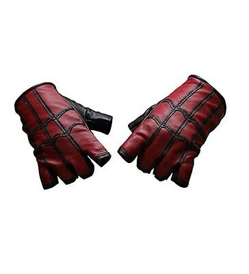 Spider-Man: Homecoming 2017 Costume Gloves - Real Leather (Medium)