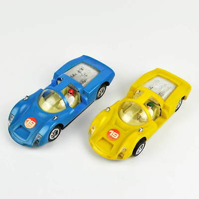 2 x ZEE Zylmex No. 1309 - Porsche Carrera 6 - Made in Hong Kong - Vintage