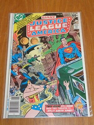 Justice League Of America #155 Dc Comics June 1978