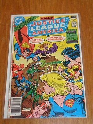 Justice League Of America #157 Dc Comics August 1978