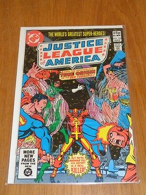 Justice League Of America #192 Dc Comics July 1981