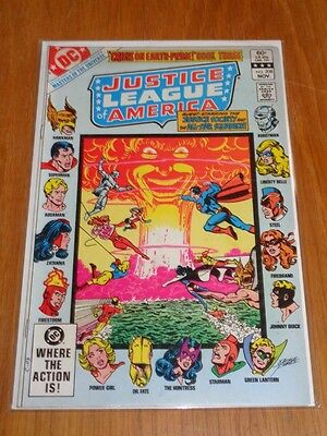 Justice League Of America #208 Dc Comics November 1982<