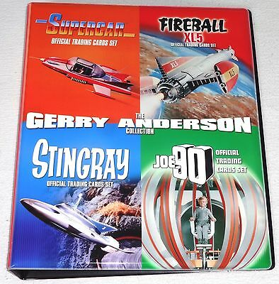 Gerry Anderson - Stingray, Fireball XL5, Joe 90, Supercar Binder+ Pages + Promos