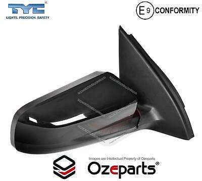 RH RHS Right Hand Electric Door Mirror Black For Holden Commodore VY VZ 02~08