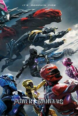 Power Rangers Movie Charge Poster 61x91.5cm