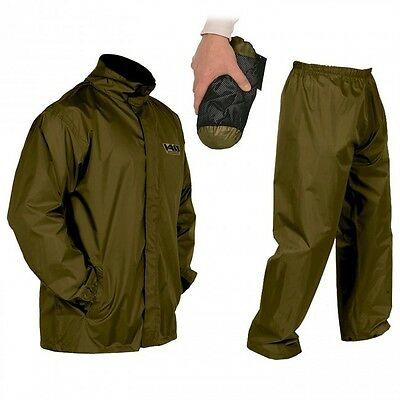 Vass-Tex Waterproof Suit Breathable Jacket & Trousers Khaki ALL SIZES FREE POST