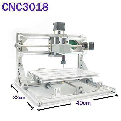 Beautystar CNC DIY Router 3018 GRBL Engraving Machine, Working Area PCB Milling