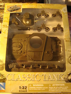 G-Scale 1/32 Scale Army M3 Tank For Scenery Or A Great Flatcar Load New, Kit