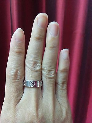 Chinese style & sliver ring by Riew Jitsampas Likit Montra size 52 (size 6 USA)