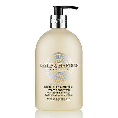 Baylis and Harding Jojoba Silk and Almond Oil Handwash - 500ml