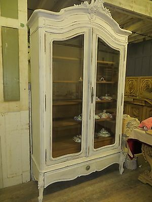 French Armoire/Display Cabinet