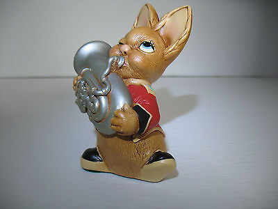 NEW Pendelfin  Blaster red Figurine rabbit Bunny w/ Box
