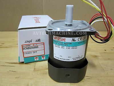 SESAME Induction Motor 5IK60A-SFP 220V