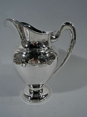 Cartier Water Pitcher - 8996 - Art Deco - Redlich - American Sterling Silver