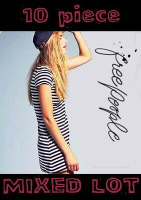 NEW Free People 10 pc MIXED LOT Summer Tops & Dresses Retail Value $600+ NWT