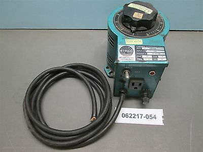 Staco 3PN1010, Variac Auto-Transformer 120 V In/0-140 V Out, 1.4 KVA, 10 A