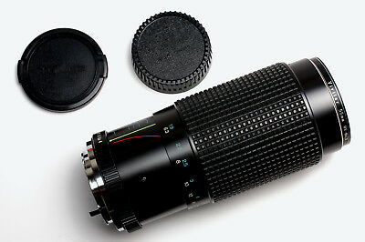 RMC Tokina 80-200mm f/4 Zoom Lens For Pentax K Caps & Filter READ (#2262)