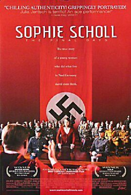 Sophie Scholl: The Final Days 2005 U.S. One Sheet Poster