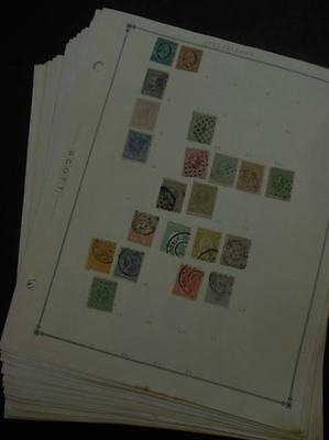 EDW1949SELL : NETHERLANDS & COLONIES Mint & Used collection, all diff on pages.