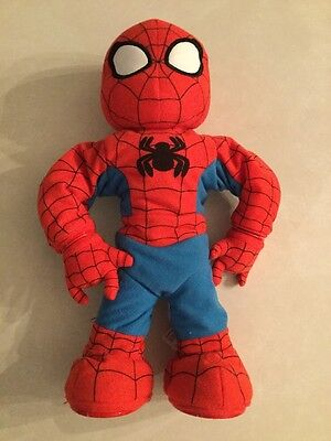 "itsy bitsy spider-man Marvel Playskool Sing Dance 14"" *Does Not Work*"