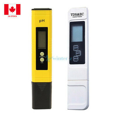 Digital PH Meter tds Tester Pocket Portable Pool Water Aquarium Hydroponic Wine