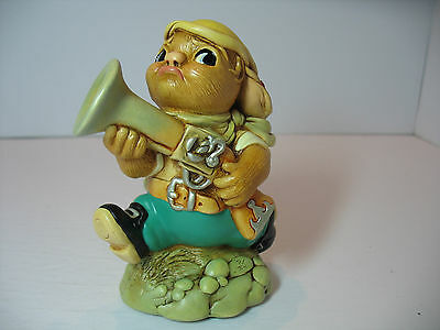 NEW Pendelfin  Blunder in King fisher Figurine rabbit Bunny w/ Box