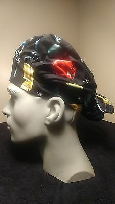 Appliances Surgical Scrub Hat Cap Bouffant Women Medical Handmade Adjustable