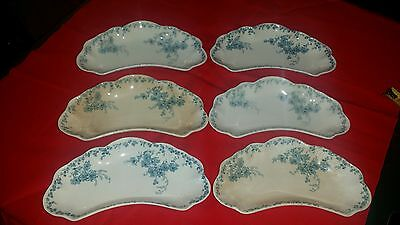 Hanwell Alfred Meakin LTD. Royal Semi Porcelain Crescent Dish
