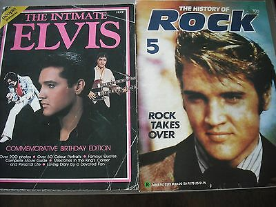 THE INTIMATE ELVIS: COMMEMORATIVE BIRTHDAY EDITION + THE HISTORY OF ROCK No. 5