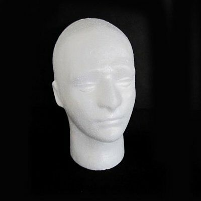 Male Mannequin Salon Doll Hairdressing Foam Manikin Head Model Glasses Stand