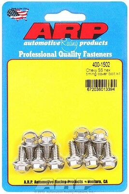 ARP Timing Cover Bolt Kit Small Block Chevy P/N 400-1502