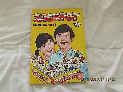 Jackpot     Annual  1983  Very Good For  Age
