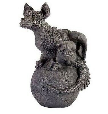 Dragon Dragon Baby on Sphere, 50 cm animal figur , New Collection