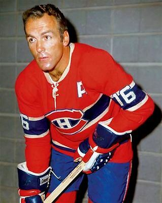 Henri Richard Montreal Canadiens 8x10 Photo