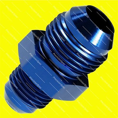 AN8 to AN6 Aluminium Male Flare Reducer Fitting Adapter - Blue