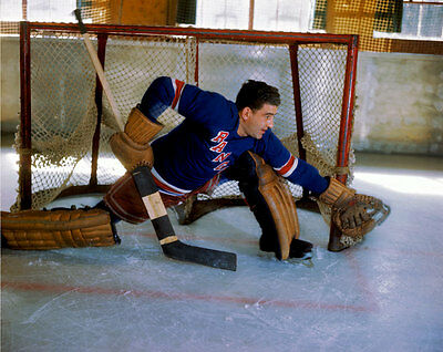 Chuck Rayner New York Rangers  8x10 Photo