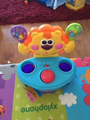 fisher price Bob & Roll Musical baby toy With A Ball. Interactive Toys