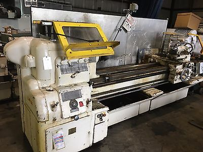 "Used 14x78 Monarch Engine Lathe 15"" 4-Jaw Chuck"