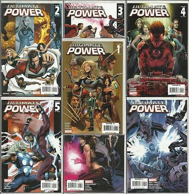 Ultimate Power #1 #2 #3 #4 #5 #6 #7
