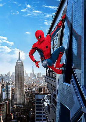 Spiderman Poster New Movie 2017 HOMECOMING Marvel Film FREE P+P CHOOSE YOUR SIZE