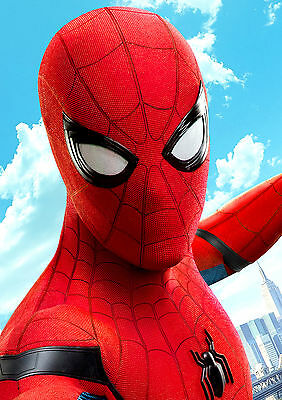 Spiderman Poster HOMECOMING New Film 2017 Marvel Movie FREE P+P CHOOSE YOUR SIZE