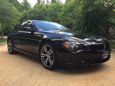2006 BMW 6-Series Base Coupe 2-Door low mile free shipping warranty coupe 650 loaded luxury clean cheap rare ci