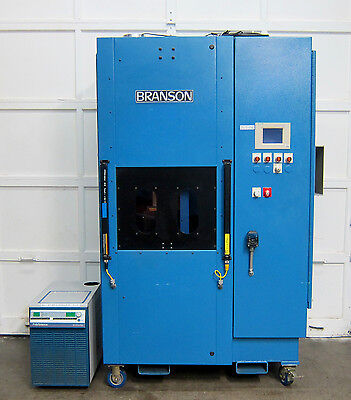 BRANSON LASER IRAM 200 Assembly System PLASTIC WELDING SYSTEM with chiller
