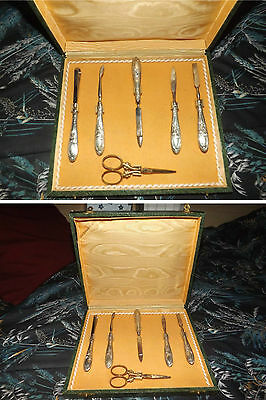 Set Manicure - Argento 800 (Inizi '900) In Custodia Originale