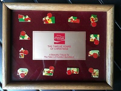 The Twelve Years Of Christmas Coca-Cola Pin Set