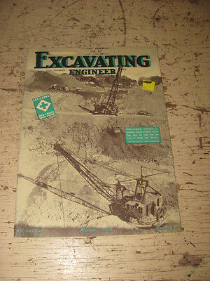 March 1944 Excavating Engineer Construction Magazine Technical International