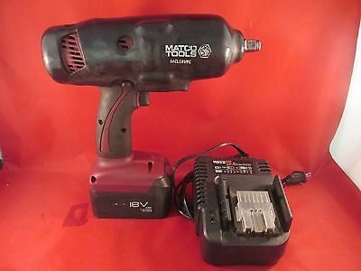 """MATCO Tools Infinium 18V 1/2"""" Drive Impact Wrench (MCL1812IW) w/Charger"""