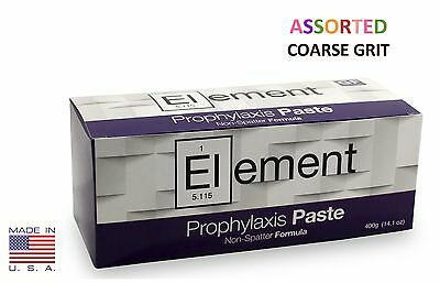 Element Prophy Paste Cups ASSORTED COARSE 200/Box  Dental Non-Splatter Flouride